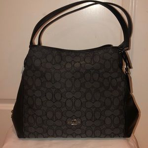 Coach signature Edie 31 shoulder bag